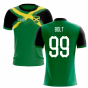 2019-2020 Jamaica Flag Concept Football Shirt (BOLT 99)