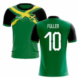 2020-2021 Jamaica Flag Concept Football Shirt (FULLER 10)