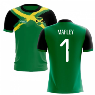 2020-2021 Jamaica Flag Concept Football Shirt (Marley 1)