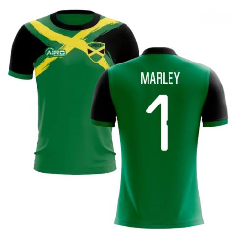 2019-2020 Jamaica Flag Concept Football Shirt (Marley 1)
