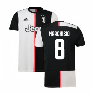 2019-2020 Juventus Adidas Home Football Shirt (Marchisio 8)