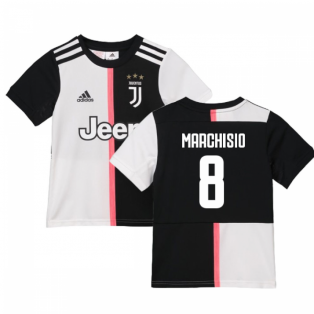2019-2020 Juventus Adidas Home Shirt (Kids) (Marchisio 8)