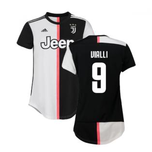 2019-2020 Juventus Adidas Home Womens Shirt (Vialli 9)