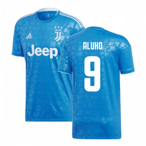 2019-2020 Juventus Adidas Third Football Shirt (Aluko 9)