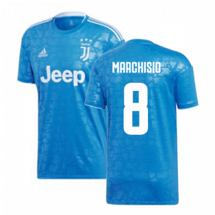 2019-2020 Juventus Adidas Third Football Shirt (Marchisio 8)