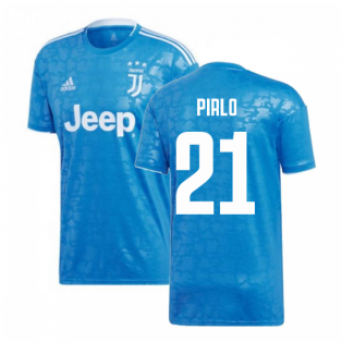 2019-2020 Juventus Adidas Third Football Shirt (Pirlo 21)
