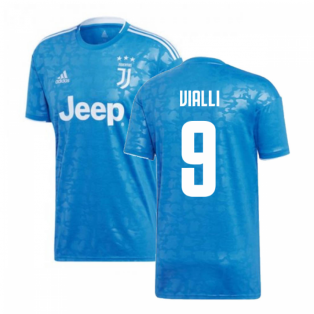 2019-2020 Juventus Adidas Third Football Shirt (Vialli 9)