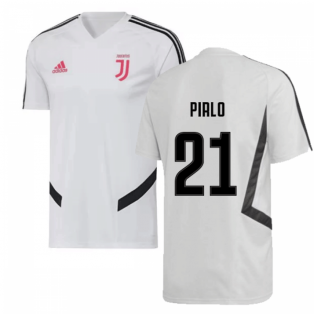 2019-2020 Juventus Adidas Training Shirt (White) (Pirlo 21)