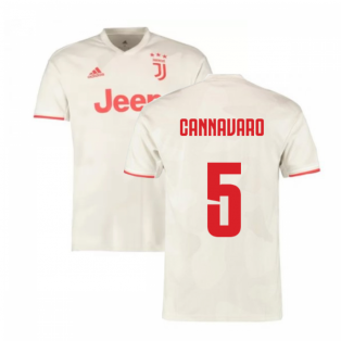 2019-2020 Juventus Away Shirt (Cannavaro 5)