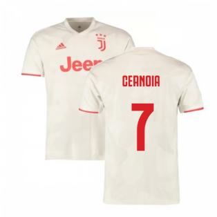 2019-2020 Juventus Away Shirt (Cernoia 7)