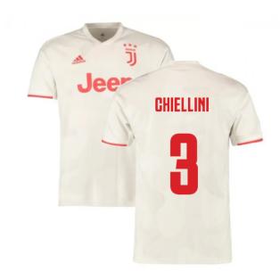2019-2020 Juventus Away Shirt (Chiellini 3)
