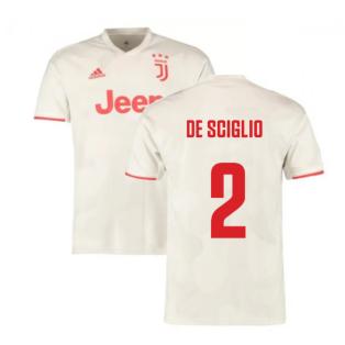 2019-2020 Juventus Away Shirt (De Sciglio 2)