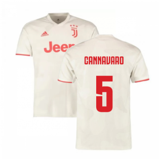 2019-2020 Juventus Away Shirt (Kids) (Cannavaro 5)