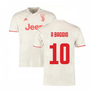 2019-2020 Juventus Away Shirt (Kids) (R Baggio 10)