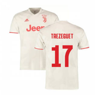 2019-2020 Juventus Away Shirt (Kids) (Trezeguet 17)
