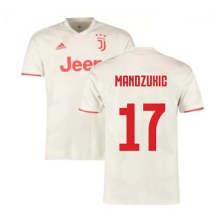 2019-2020 Juventus Away Shirt (Mandzukic 17)