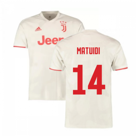 2019-2020 Juventus Away Shirt (Matuidi 14)