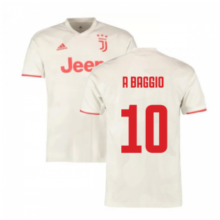 2019-2020 Juventus Away Shirt (R Baggio 10)