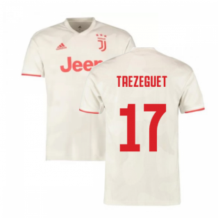 2019-2020 Juventus Away Shirt (Trezeguet 17)