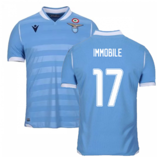 2019-2020 Lazio Authentic Home Match Shirt (IMMOBILE 17)