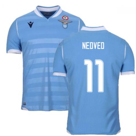 2019-2020 Lazio Authentic Home Match Shirt (NEDVED 11)