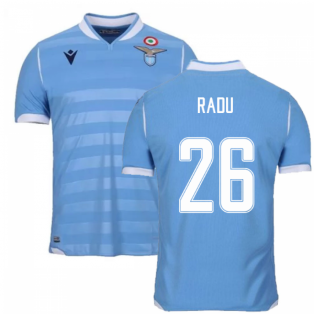 2019-2020 Lazio Authentic Home Match Shirt (RADU 26)