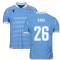 2019-2020 Lazio Authentic Home Match Shirt (RADU 26)