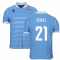 2019-2020 Lazio Authentic Home Match Shirt (SERGEJ 21)