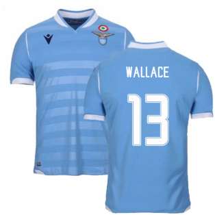 2019-2020 Lazio Authentic Home Match Shirt (WALLACE 13)