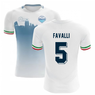 2020-2021 Lazio Home Concept Football Shirt (FAVALLI 5)