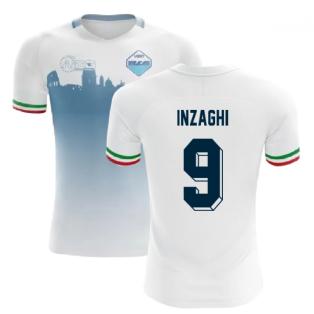 2020-2021 Lazio Home Concept Football Shirt (INZAGHI 9)