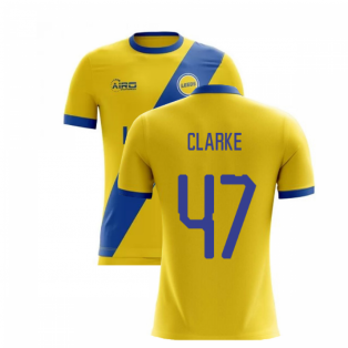 2019-2020 Leeds Away Concept Football Shirt (Clarke 47)