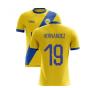 2020-2021 Leeds Away Concept Football Shirt (Hernandez 19)