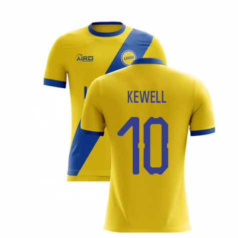 2020-2021 Leeds Away Concept Football Shirt (KEWELL 10)