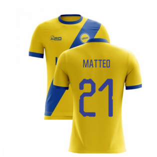 2019-2020 Leeds Away Concept Football Shirt (MATTEO 21)