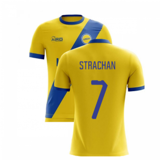 2020-2021 Leeds Away Concept Football Shirt (STRACHAN 7)