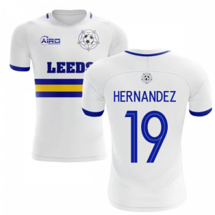 2020-2021 Leeds Home Concept Football Shirt (Hernandez 19)