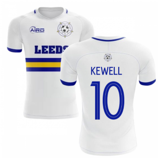 2020-2021 Leeds Home Concept Football Shirt (KEWELL 10)