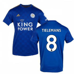 2019-2020 Leicester City Home Football Shirt (Tielemans 8)