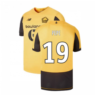 2019-2020 Lille Away Football Shirt (PEPE 19)