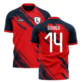 2020-2021 Lille Home Concept Football Shirt (BAMBA 14)
