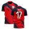 2019-2020 Lille Home Concept Football Shirt (CELIK 17)