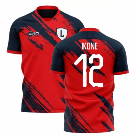 2020-2021 Lille Home Concept Football Shirt (IKONE 12)