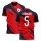 2019-2020 Lille Home Concept Football Shirt (SOUMAORO 5)