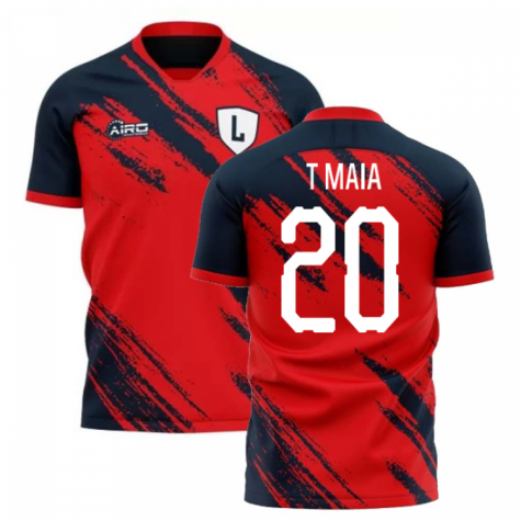 2020-2021 Lille Home Concept Football Shirt (T MAIA 20)