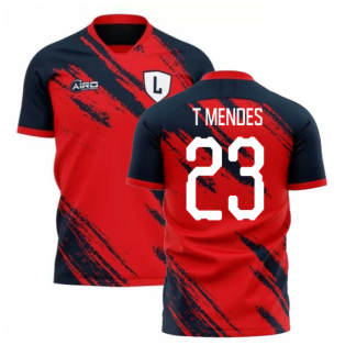 2020-2021 Lille Home Concept Football Shirt (T MENDES 23)