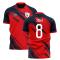 2020-2021 Lille Home Concept Football Shirt (XEKA 8)