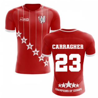 2020-2021 Liverpool 6 Time Champions Concept Football Shirt (Carragher 23)
