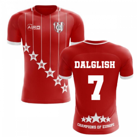 2020-2021 Liverpool 6 Time Champions Concept Football Shirt (Dalglish 7)