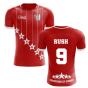2020-2021 Liverpool 6 Time Champions Concept Football Shirt (Rush 9)